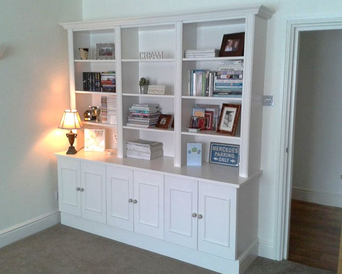Bookcases and sideboards services